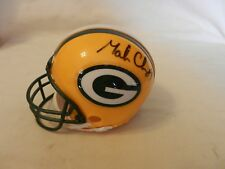 Mark Chmura #89 Green Bay Packers Signed Mini Helmet (1/2 Size mini)