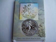 Grace the Fairy 1 OZ .999 Silver Art Slab Proof Tom Grindberg Marvel & DC fame