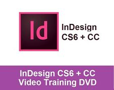 LEARN HOW TO USE INDESIGN CS6 + CC - PROFESSIONAL TRAINING DVD TUTORIAL