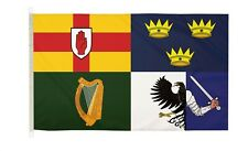 DuraFlag  Four Province Ireland 5ft x 3ft Flag with Clips And Hooks