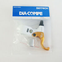 DIA-COMPE TECH99 GOLD FINGER Brake Lever (Right Only) White x Gold