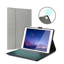 Backlit Smart Keyboard for iPad Air 3rd Gen 2019 10.5 Smart Cover+Pencil Slot