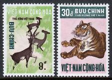 Viet Nam Sud 396-397, MNH Cerf, Tigre, 1971