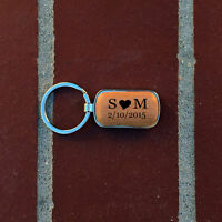Personalize Wooden Key chain, Personalized key chain, gift idea, gift for him