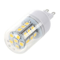 G9 5W 27 LED 5050 SMD Mais Birne Lampe Spotlicht Strahler Warmweiß AC 220V H6V8