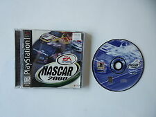 NASCAR 2000 Black Label  [Sony Playstation 1] PSX PS1 Complete in Box