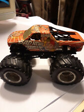 Hot Wheels Bad News Travels Fast Monster Jam Truck(loose)