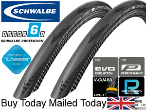 Schwalbe One/ Pro One 700 x 25c V-Guard / Microskin Tubeless TLE Road Race Guard