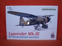 Eduard ® 1138 Lysander Mk.III In Ilmavoimat Service Limited Edition 1:48