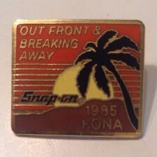 Snap On Tools Collectable OUT FRONT AND BREAKING AWAY 1985 KONA HAWAII PIN