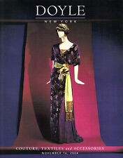 DOYLE Costume Jewelry Couture Balenciaga Chanel Hermes Auction Catalog 2004