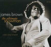JAMES BROWN (R&B) - ULTIMATE SHOWMAN: LIVE IN CONCERT USED - VERY GOOD CD
