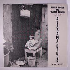 LUCILLE BOGAN & WALTER ROLAND: Alabama Blues, 1930-35 LP (Austria, w/ insert)