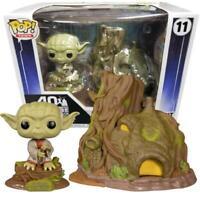 "Star Wars FUNKO POP! #11 ""Dagobah Yoda with Hut"" Vinyl Bobble Head - Exclusive"