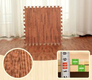 9pcs Waterproof Home Floor Mats Bathroom Carpet Foam Tapete Exercise 30X30CM