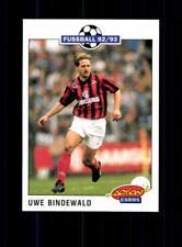 Uwe Bindewald  Eintracht Frankfurt SC Panini Action Card 1992-93+ A 183195
