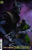 Hell Arisen #1  DC Comic Book Cover B Year of the Villain 2020 NM
