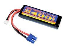 HRC Lipo batería 2s 7,4v 2400mah 50c ec3-macho-hrc04224e