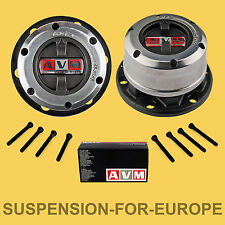 AVM Kit Mozzi Ruota Libera manuali per Nissan Terrano II e D21, NUOVA