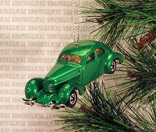 1936 CORD '36 GREEN CHRISTMAS ORNAMENT XMAS