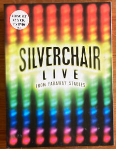 Silverchair Live from Faraway Stables   4 disc set 2 x CD & 2 x DVD + Booklet