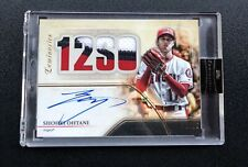 #2/15 SHOHEI OHTANI 2020 Topps Luminaries 12 SO Patch Autograph Auto Angels🔥wow