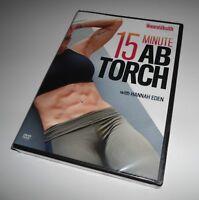 Women's Health 15-Minute Ab Torch Workout (DVD NEW) Hannah Eden Fitness