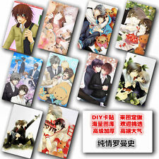 Hot Japan Anime  Junjou Romantica 10 pc/set  Card Paster IC Card Sticker