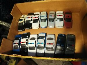 1993-1998 Road Champs State Police Ford Crown Victoria, Caprice 1/43 LOT 12x
