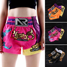 Kids Adult Mma Fight Shorts Kick Boxing Grappling Martial Gear Muay Thai Gym New