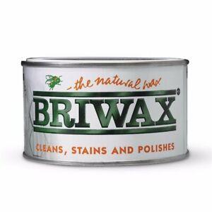 400gm BRIWAX ORIGINAL WAX FURNITURE POLISH - CLEAR & COLOURS AVAILABLE