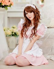 Tame Rosa japonés Fiesta Disfraz De Mucama Francesa Disfraz uniforme camarera