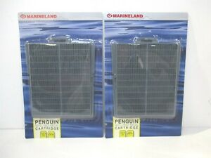 Marineland Penguin Refillable Filter Media Cartridge for Penguin 200/350 - Qty 2