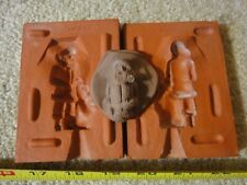 Rare! Vintage tin, lead, plastic toy soldiers, 1/32 Christmas Santa Clause mold