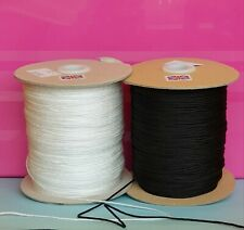 1mm AUSTRIAN BLIND CORD WHITE or BLACK STRING CURTAIN FESTOON STRONG Quality