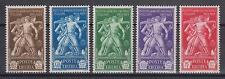 1930 - Colonie, Eritrea, Istituto Agricolo 5 valori soprast. linguellati - 971