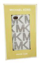 MICHAEL KORS MK Vanilla/Black PLASTIC iPHONE 4 CASE