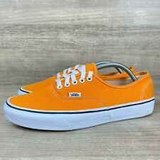 Vans Era Off the Wall Men's Sneakers Orange Crush Lace Up Shoes Size 10.5