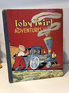 Toby Twirl Adventures - Sheila Hodgetts - Vintage children's book