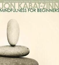 Mindfulness for Beginners Jon Kabat Zinn CD Audio Book