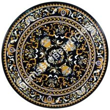 """49"""" Marble Top Dining Room Table Inlay Floral Art Beautiful Love Gift Decor Arts"""