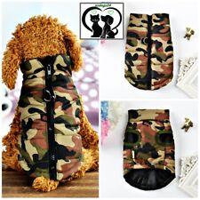 💚 Trend.Hundeweste Mantel Softgeschirr Welpe Jacke Pullover Camouflage XS-L