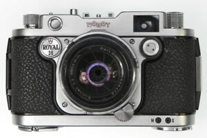 Robot Royal 36 with 50mm f2 Sonnar  #Z137908,1526476  ........... Very Rare !!
