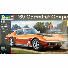 Revell 07192 1969 Corvette Coupé 1/25 scale plastic model car kit