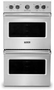 """Viking Professional 5 Series VDOE530SS 30"""" Double Wall Oven 9.4 cu.ft. Stainless"""