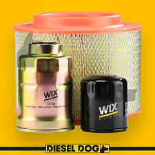 Air Oil Fuel Filter Service Kit - Ford Ranger PJ, PK - Diesel Dog 60019