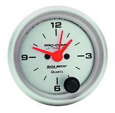 "AUTO METER 4385 ULTRA LITE ELECTRIC CLOCK 2-1/16"" Gauge (52mm)"