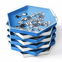 Becko Stackable Puzzle Sorting Trays Jigsaw Puzzle Sorters with Lid Puzzle, NEW