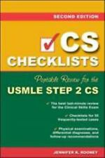CS Checklists: Portable Review for the USMLE Step 2 CS (Clinical Skills Exam) (P