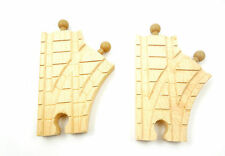 """Thomas & Friends Wooden Clickity-Clack 3 1/2"""" Single Curved Switch Track LC99238"""